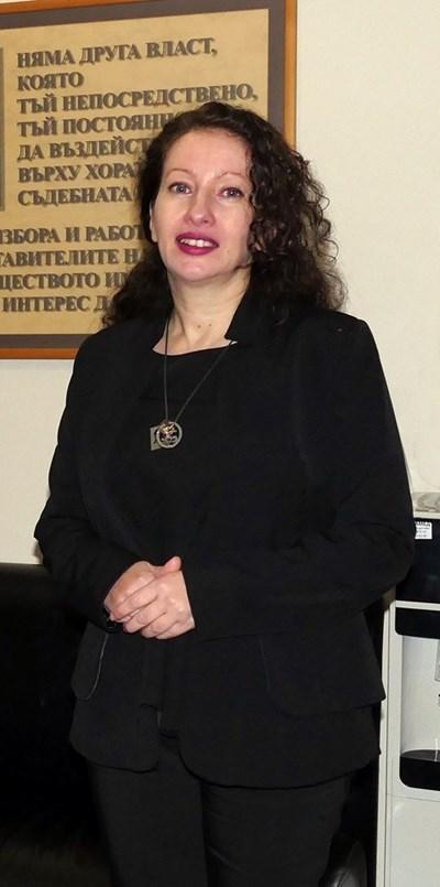 Мариета Райкова бе избрана за председател на спецсъда на 5 февруари. СНИМКА: Пиер Петров