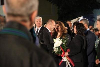Нинова поздрави президента Радев за държавническата позиция по антикорупционния закон на правителството. СНИМКА: Фейсбук/Корнелия Нинова