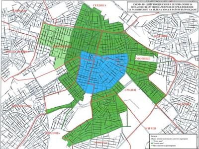 Zelena Zona Za Parkirane I Okolo Vma Kvartalite Zona B 18 I