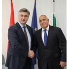 Андрей Пленкович и Бойко Борисов СНИМКА: Министерски съвет