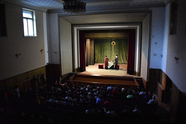 ab8adf70b0f Театралната постановка тази година събира 140 души публика. СНИМКА: Личен  архив