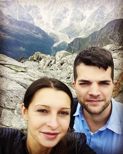 Павела и Николо  по време на екскурзия СНИМКИ:  ФЕЙСБУК