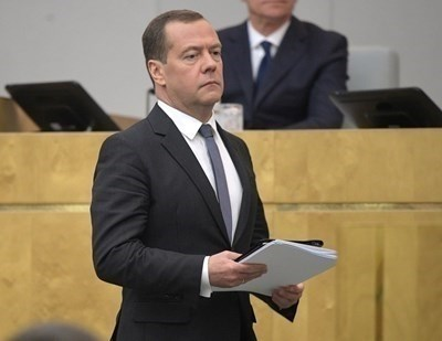 Дмитрий Медведев СНИМКА: Ройтерс