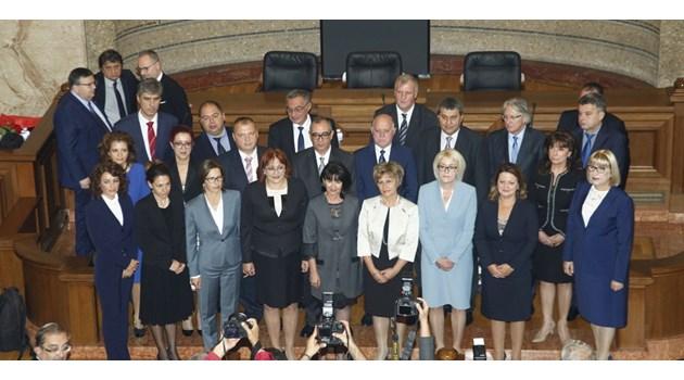 Новите 22-ма встъпиха във ВСС (Снимки+ Видео)