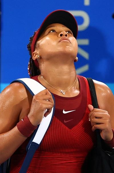 Наоми Осака разочарова сънародниците си, като загуби рано на олимпиадата. Снимка: Ройтерс