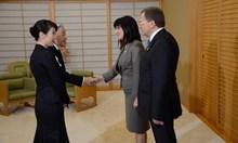 """Първо в """"24 часа"""": Вижте Караянчева и императора на Япония"""