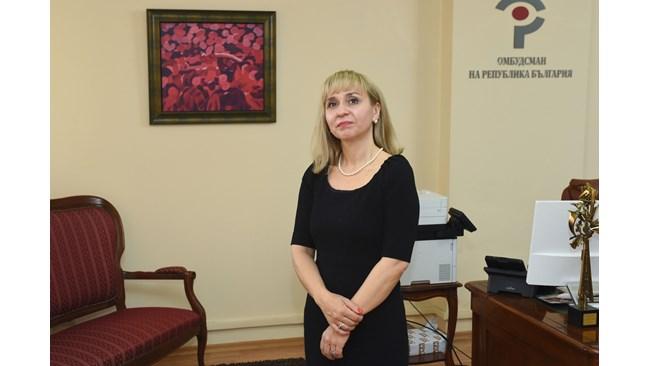 Омбудсманът Диана Ковачева пита ВСС кога ще заработи електронното правосъдие
