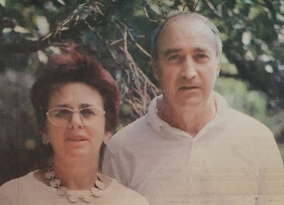 Юлия Берберян и съпругът й Георги Малеев.