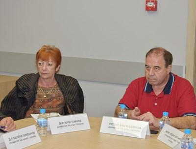 Петър Басмаджиев на заседание в областната управа