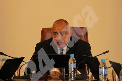 Премиерът Бойко Борисов съобщи, че България влиза в чакалнята на еврото до юли 2020 г. СНИМКА: 24 часа