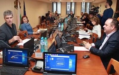 Момент от заседание на ВСС, Снимка: Румяна Тонева, архив