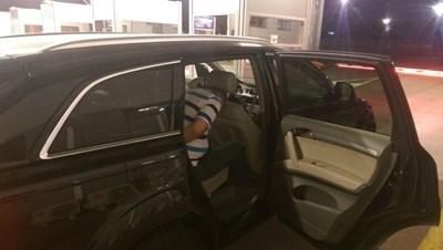 """Организаторите били спипани в автомобил на ГКПП """"Капитан Андреево"""" при акцията през септември 2019 г. СНИМКА: МВР"""
