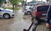 Шофьорът, помел 7 коли във Варна, е под охрана в токсикологията