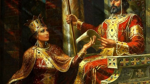 Заради жени губим две морета и падаме под турско робство. Иван Асен II изоставя съпругата и децата си заради красивата Ирина