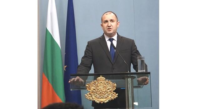 Президентът налага вето на изборните промени, зове БСП да се върне в парламента (Видео)