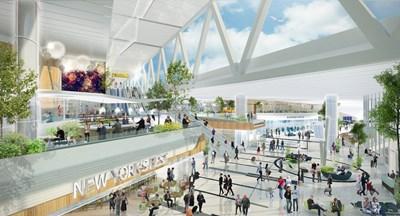 Визуализация на проекта на летище Ла Гуардия в Ню Йорк