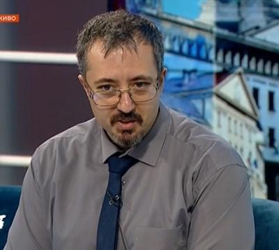 Математикът д-р Лъчезар Томов КАДЪР: БНТ