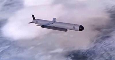 """Руската ракета """"Буревестник"""", която се предполага, че са тествали."""