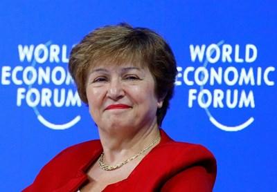 Кристалина Георгиева СНИМКА: Ройтерс