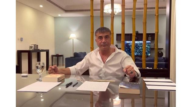 Турски мафиот бяга в Дубай, обвинява висши фигури във властта в убийства и трафик на дрога