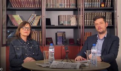 Мила Гешакова интервюира Анастас Стефанов