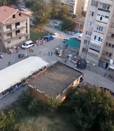 Ромската махала в Лом Кадър: Нова тв