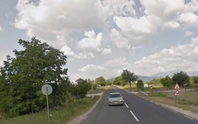 Пътят Казанлък - Калофер СНИМКА: Google Street View