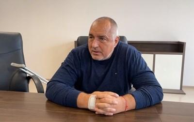Борисов представи кабинета на ГЕРБ-СДС от болницата (Видео)