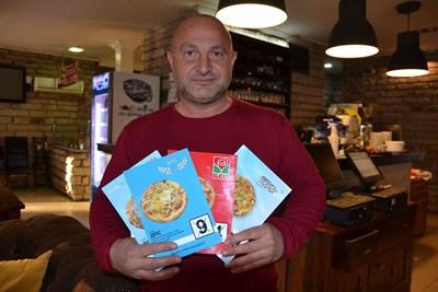 Предизборни пици с имена на партии предлага пицария в Кърджали. Идеята е на собственика на заведението Даниел Дялков.