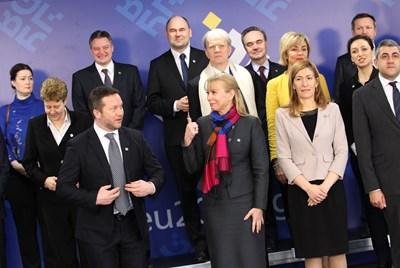 Еврокомисарят Елжбета Бенковска и туристическите министри на страните от ЕС, Западните Балкани и Турция. СНИМКА: Йордан Симеонов