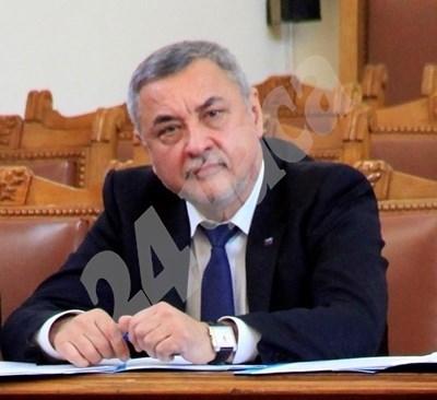 Зам.-председателят на НС и лидер на НФСБ Валери Симеонов