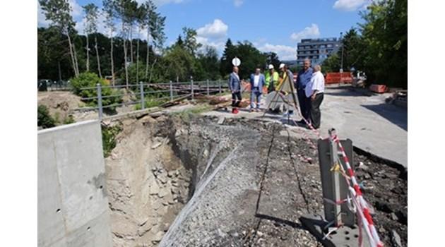 Първа копка на магистралата Русе – Велико Търново през 2018 г.