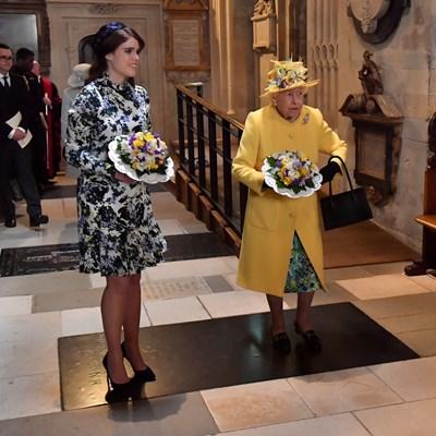 Принцеса Юджини и британската кралица Елизабет II СНИМКИ: РОЙТЕРС