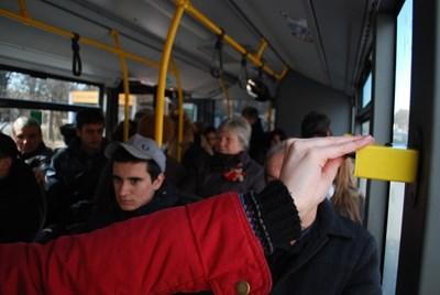 """Скоро перфораторите на столичния градски транспорт ще отидат в историята.  СНИМКА: """"24 ЧАСА"""""""
