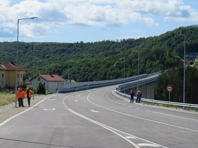 Обходният път на Габрово, който трябва да отвежда към тунела под Шипка СНИМКА: Дима Максимова