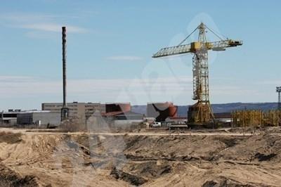 """Строителната площадка на АЕЦ """"Белене"""" СНИМКА: Архив"""
