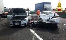 Българин загина в катастрофа на магистралата Милано-Торино, 6-ма са ранени