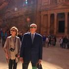 Кралят на Норвегия Харалд Пети и кралица Соня на посещение в Йордания. Снимка Архив