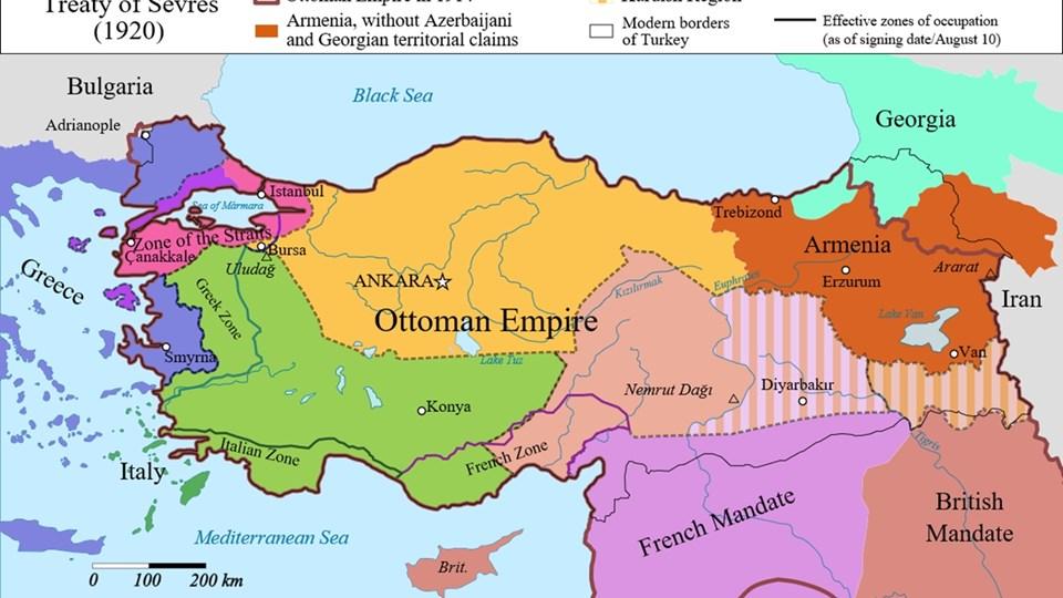 САЩ 100 г. пазят документ, с който могат да прекроят границите на Турция