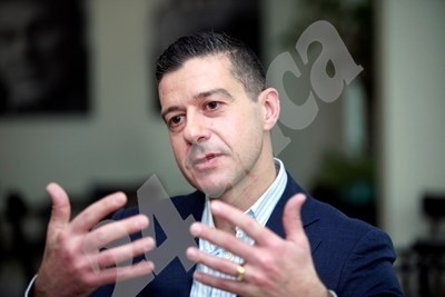 Генералният директор на Българското национално радио Андон Балтаков СНИМКА: Архив