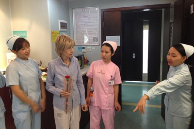 "Габриела се лекува в болницата ""Фуда""."