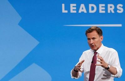 Британският външен министър Джереми Хънт СНИМКА: Ройтерс