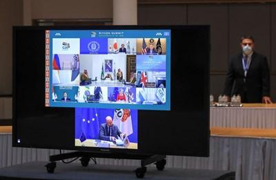 Срещата на върха на Г-20, във виртуален формат, започна с призиви за единен отговор срещу коронавируса СНИМКА: Ройтерс