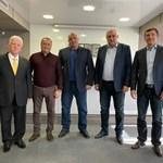 Представители на ДЕН се срещнаха с Борисов в централата на ГЕРБ