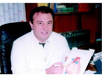 Д-р Борислав Ацев, кардиолог в университетската болница