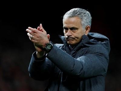 """Жозе Моуриньо и неговият """"Юнайтед"""" се изправят срещу """"Селта"""" на полуфиналите. Снимка РОЙТЕРС"""