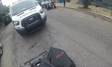 Мотористи срещу полицаи