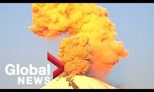 Зрелищно изригване на мексиканския вулкан Попокатепетъл