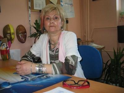 Завеждащата инфекциозно отделение д-р Мария Пишмишева Снимка:Любомир Илков/архив