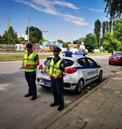 Полицейските хайки на пътя в Пловдив не спират.